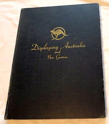 1945 WWII Displaying Australia & New Guinea Memorabilla For US Forces Book