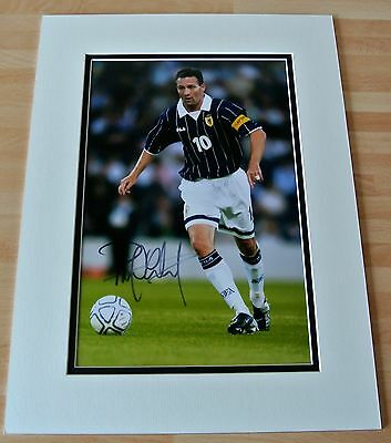 Paul Lambert SIGNED autograph 16x12 photo Mount display Scotland Football & COA