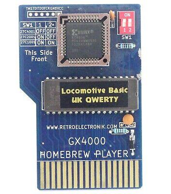 Cartouche Locomotive Basic UK + B Rubber pour Amstrad CPC+ CPC 464...