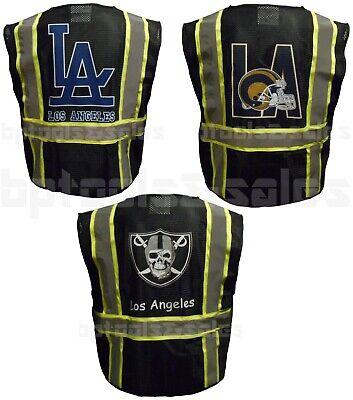 Reflective Black Mesh Safety Vest W Pockets 2 Tone High-visiblity Surveyor Vest