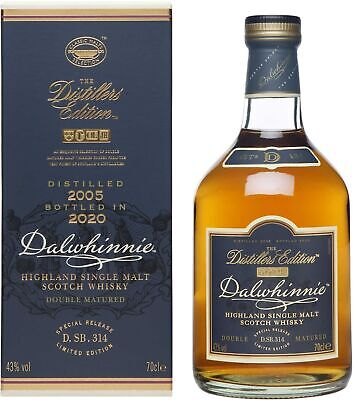 Dalwhinnie Whisky Distillers Edition 2005/2020 Special Release 0,7l