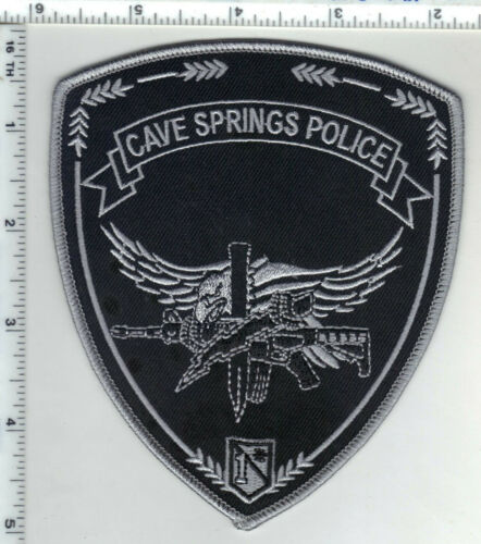 Cave Springs Police (Arkansas) 1st Issue Subdued Shoulder Patch
