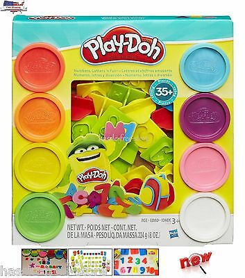 NEW Play Doh Sets Playdough Numbers Letters N Fun Art Toys And Games
