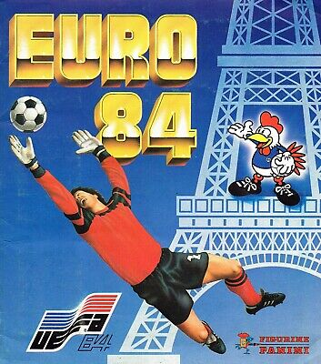 ALBUM CROMOS FUTBOL EUROCOPA 84,FACSIMIL COMPLETO Y NUEVO