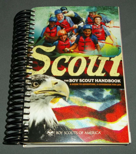 BOY SCOUTS - SCOUT THE BOY SCOUT HANDBOOK - 12TH EDITION - MINT
