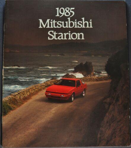 1985 Mitsubishi Starion Catalog Sales Brochure LS LE ES Excellent Original 85