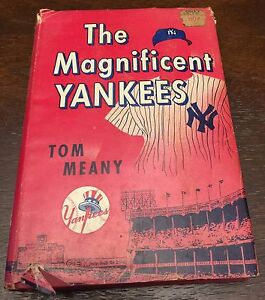 The Magnificent Yankees - Vintage Baseball Book