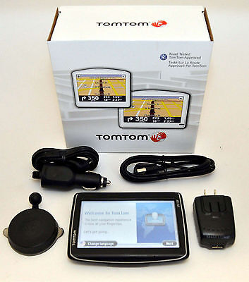 """NEW in Box TomTom GO LIVE 1535M Car GPS 5"""" LCD USA/Can/Mex LIFETIME MAPS TRAFFIC"""
