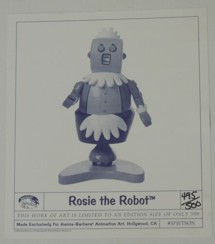 ESZ9266. Jetsons Maquette Statue ROSIE THE ROBOT L/E 495 of 500 (1996) SEALED