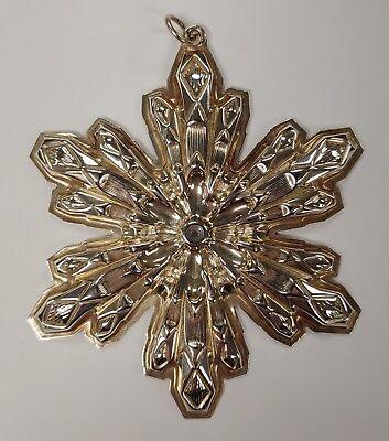Sterling Snowflake (GORHAM 1974 STERLING SILVER SNOWFLAKE CHRISTMAS)