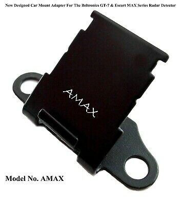 Nice Car Mount Adapter Good For The Escort MAX, MAX 2 & Bel GT-7 Radar Detectors