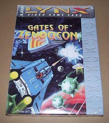 Atari Lince Juego Consola Portátil Cartucho Gates Of Zendocon Nuevo Caja Sellado