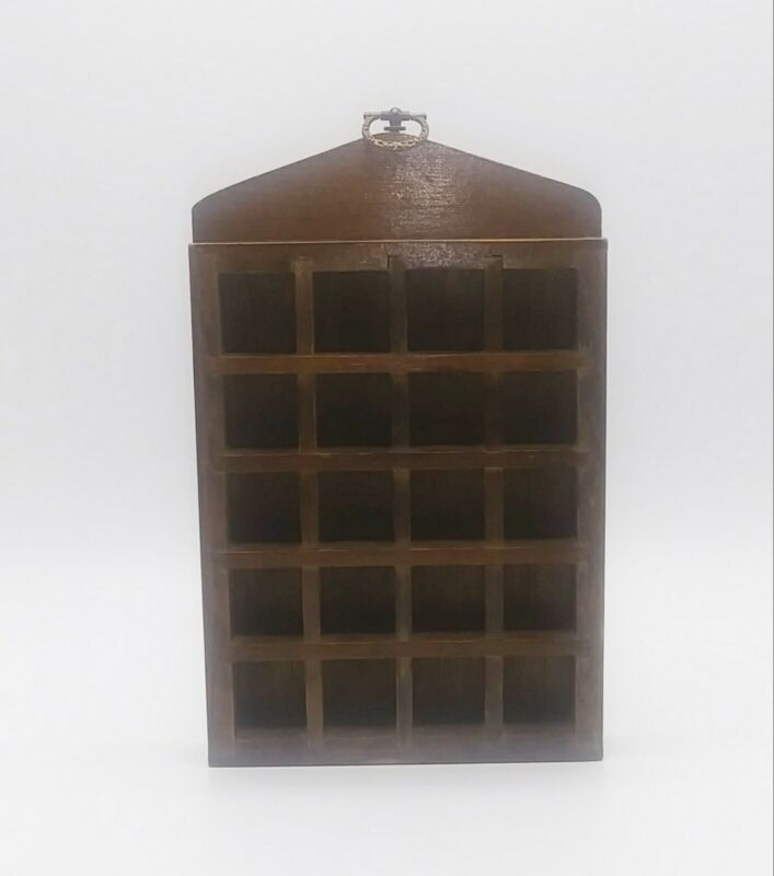 Vintage Wooden Thimble Rack