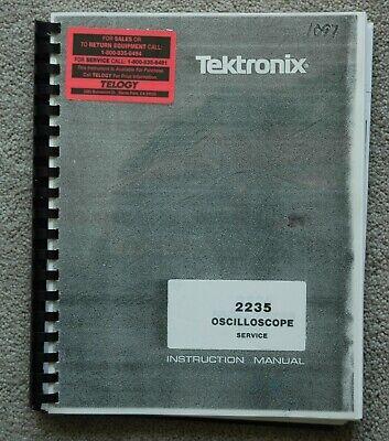 Tektronix 2235 Reprinted Service Manual Paper Manual Part 070-4206-00