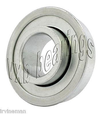 Unground Flanged Wheel Bearing 12x1 38 Inch Ball Bearings
