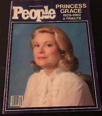 Vintage People Magazine Princess Grace 1929 1982 A Tribute September 27  1982