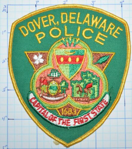 DELAWARE, DOVER POLICE DEPT PATCH