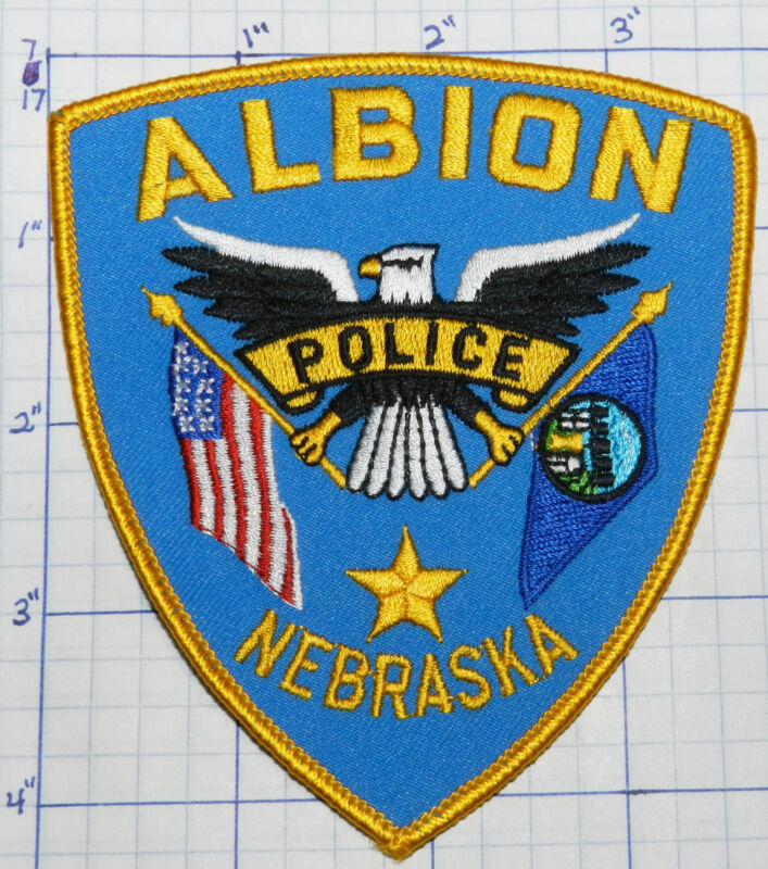 NEBRASKA, ALBION POLICE DEPT PATCH