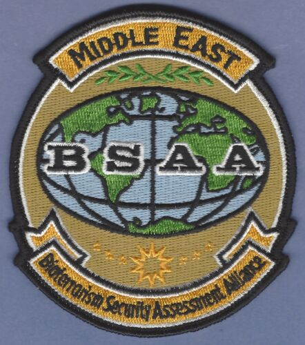 BSAA RESIDENT EVIL MIDDLE EAST BIOTERRORISM SECURITY ASSESSMENT ALLIANCE PATCH