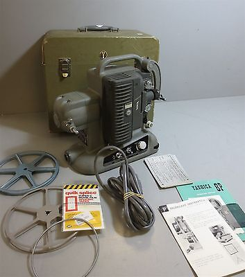 Vintage-Yashica 8P-8mm Film Projector-In Original Case-w/Accessories-WORKS
