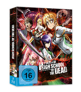 Highschool of the Dead - Blu-Ray Box +