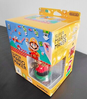 WII U SUPER MARIO MAKER AMIIBO EDITION COLLECTOR´S LIMITED BRAND NEW PAL...