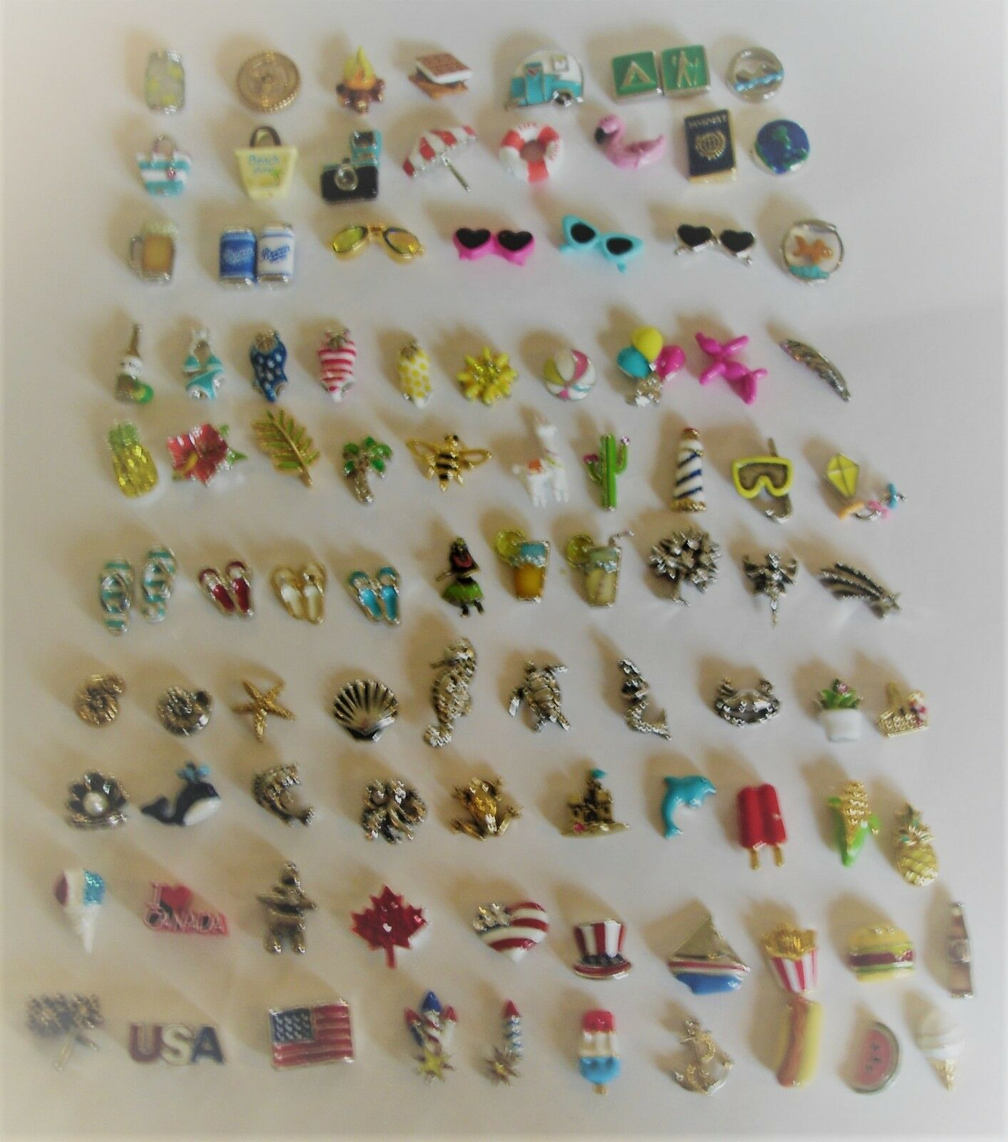 Authentic Origami Owl New Summer  2018 Charms FREE SHIPPING