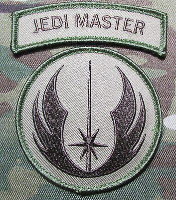 Jedi Warrior Master Patch /& Tab Set NSWDG SWAT Red Navy SEAL SAS Hereford DEVGRU