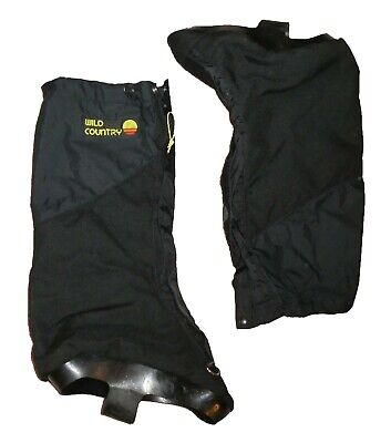Wild Country Thinsulate Gore-Tex Mountaineering Gaiters Overboots, Size M