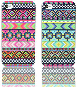 New-Aztec-Tribal-Tribe-Pattern-Retro-Vintage-Hard-Case-Cover-for-iPhone-4-4S