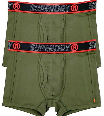 "Superdry Boxer Shorts 2X PACK  ""SALE "" KHAKI"