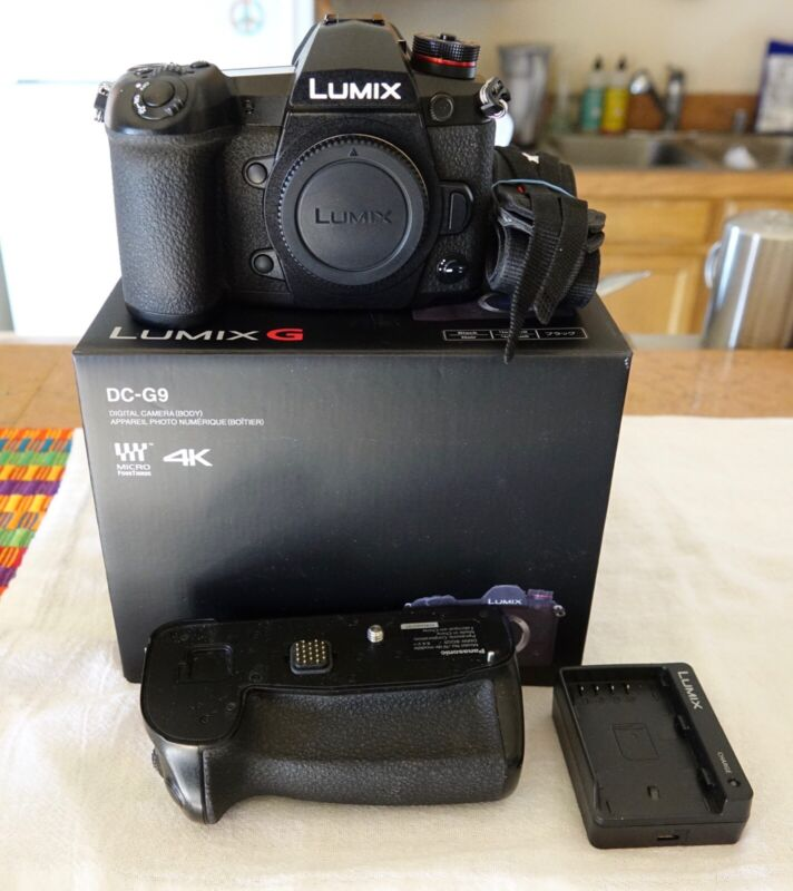 Panasonic LUMIX G9 20.3 MP Digital Camera - Black (Body Only)