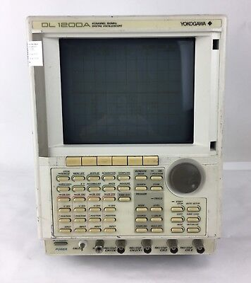 Yokogawa Dl 1200a 4 Channel 100mhz Digital Oscilloscope
