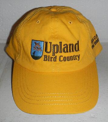 Upland Bird Country Hunting Texas Class Wing-Shooting Yellow Baseball Cap Hat
