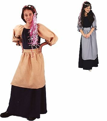 Renaissance Village MAIDEN GIRL Medieval Adult Costume Theme Wedding Theater