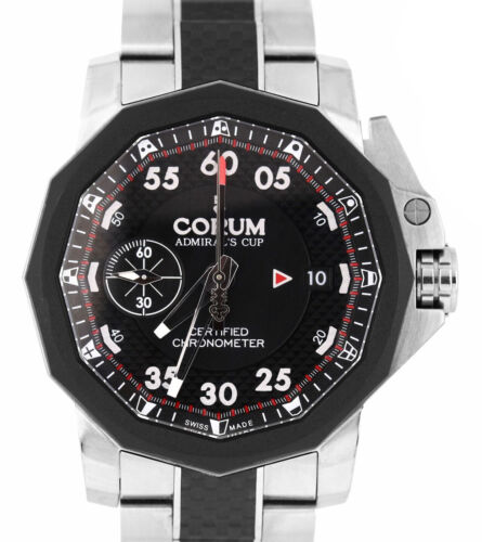 Corum Admiral's Cup Chronograph 44mm Titanium Carbon Fiber Watch A961/02939 - watch picture 1