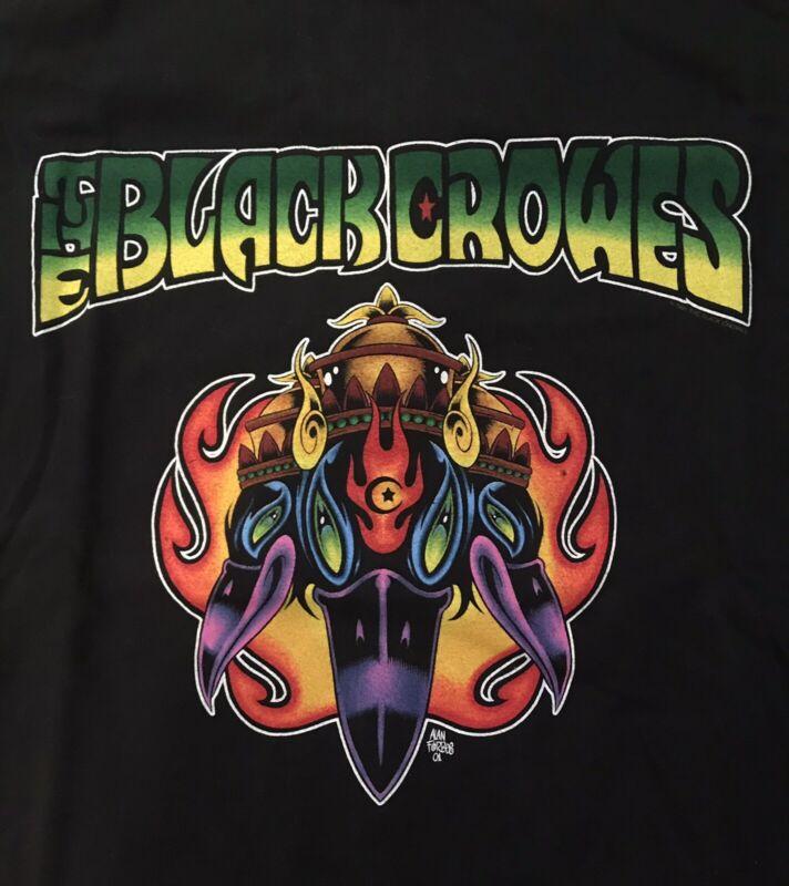 VINTAGE BLACK CROWES 2001 TOUR SHIRT