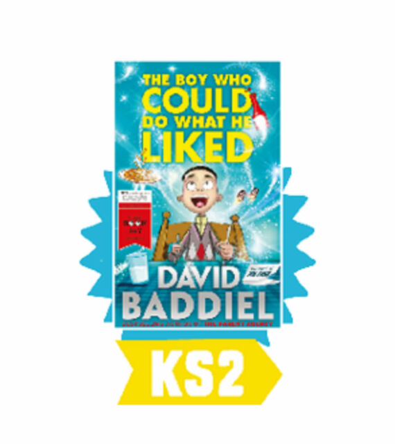 The Boy Who Could Do What He Liked by David Baddiel World Book Day 2016 New