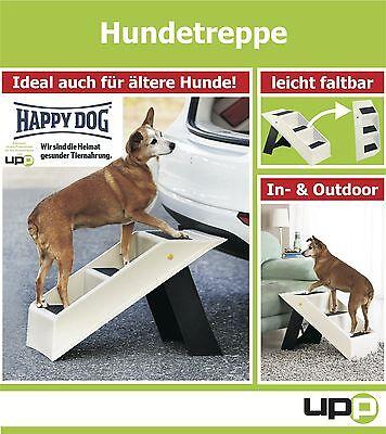UPP® Hundetreppe Hunderampe Katzentreppe Tiertreppe Steighilfe Haustier Rampe