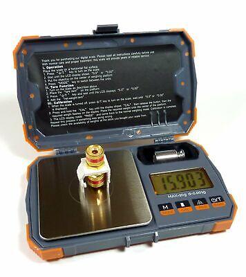 20g X 0.001g Digital Pocket Scale With Cal Weight Herb Gram Jewelry Karat Gold