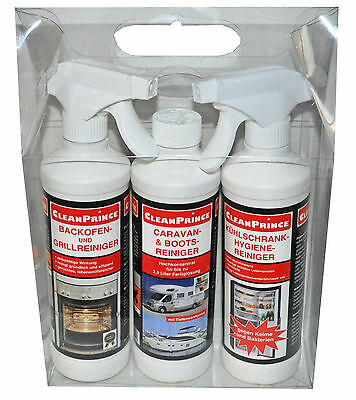 1,5 Litro CAMPEGGIO SET PULITORE BRASIL Detergente per griglia CARAVAN BARCA