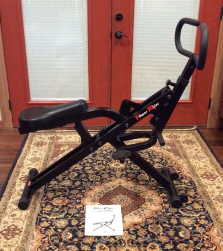 POWER RIDER CARDIO GLIDE BY GUTHY-RENKER  EXERCISE MACHINE W/ MANUAL