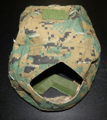 U.S. Marine Corps USMC Recon MARSOC Reversible MARPAT MICH Helmet Cover M / L Marine Corps Helmet