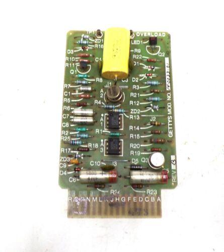 GOULD GETTYS PC MODULE BOARD 14-0033-01, SERVO CONTROLLER