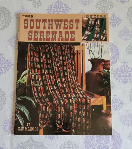 Leisure Arts SOUTHWEST SERENADE Leaflet #3101 - 11 Crocheted Afghans