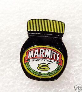Marmite Jar Biker enamel pin / lapel badge