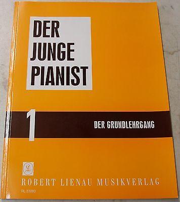 "DER JUNGE PIANIST  RL 23080  BAND 1  ""ROBERT LIENAU""   GRUNDLEHRGANG"