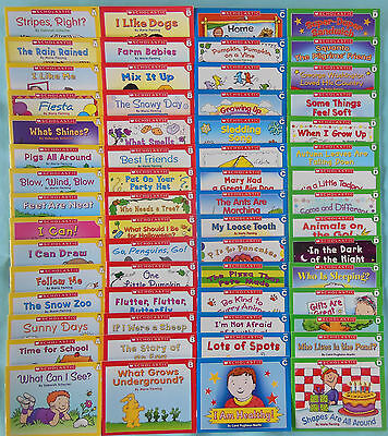 Lot 60 Kids Books Early Beginning Readers Learn to Read Kindergarten Grade 1 NEW