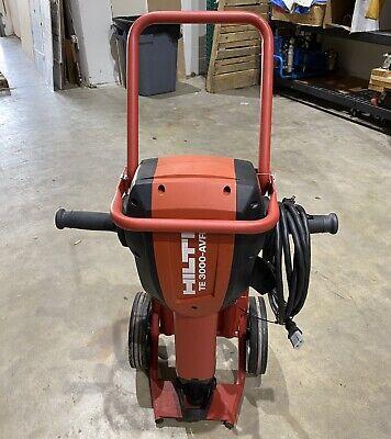 Hilti Te 3000-avr W Cart 1-18 Te 3000-avr Demolition Jack Hammer