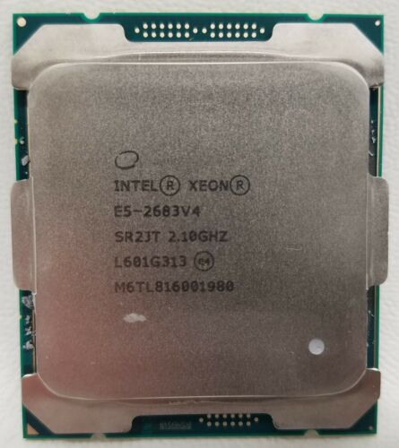 Intel Xeon E5-2683v4 2.10GHz 16-Core 40MB 120W LGA2011-3 SR2JT Processor CPU